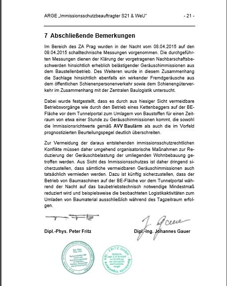 201604 Auszug Messbericht ZA Prag Fazit