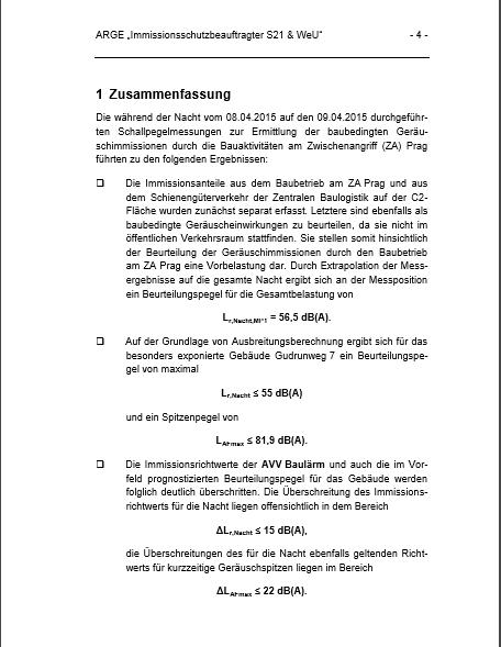 201604 Auszug Messbericht ZA Prag S 4