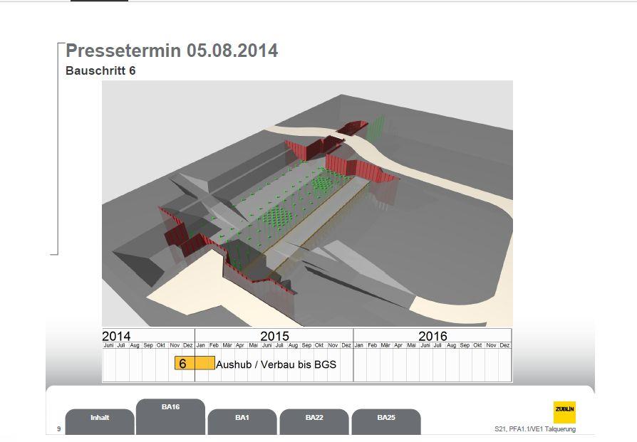 Baufeld 16 Plan August 2015 Bauschritt 6